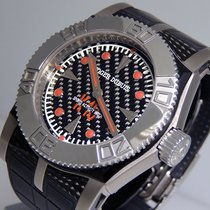 Roger Dubuis Titanium Automatic Black 46mm pre-owned Easy Diver