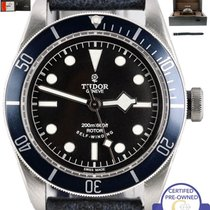 Tudor 2015 MINT  Black Bay Heritage Blue 79220B 41mm Stainless...