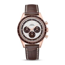 Omega Rose gold Manual winding Silver Roman numerals 39.7mm new Speedmaster Professional Moonwatch