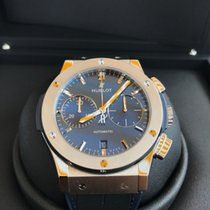 Hublot Classic Fusion Blue pre-owned 45mm Titanium