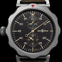 Bell & Ross Vintage new 2012 Automatic Watch with original box and original papers BRWW2-REG-HER/SCA
