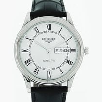 Longines L4.899.4.21.2 Acero Flagship 38.5mm