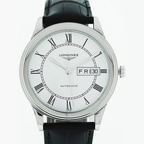 Longines L4.899.4.21.2 Steel Flagship 38.5mm