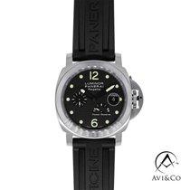 Panerai Special Editions Steel 44mm Black Arabic numerals