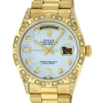 Rolex Day-Date 36 Yellow gold 36mm Mother of pearl United States of America, California, Los Angeles
