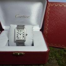 Cartier Tank Solo Grande Automatik, UNGETRAGEN, B&P, Ref....