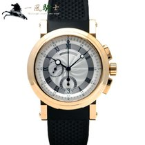 Breguet 42mm Automatic pre-owned Marine Silver