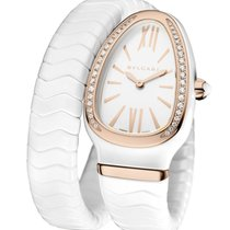Bulgari Serpenti Ceramic White
