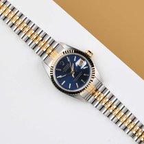 Rolex Lady-Datejust Oro/Acciaio 26mm Blu