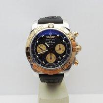 Breitling Chronomat 44 Oro/Acciaio 44mm Nero Italia, Rassina