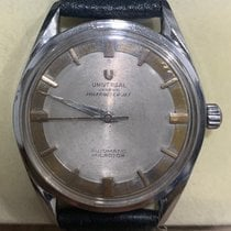 Universal Genève Steel 35mm Automatic Microtor pre-owned Singapore, Singapore