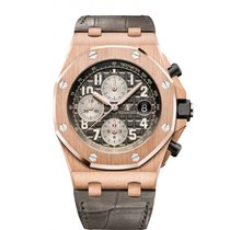 Audemars Piguet Royal Oak Offshore Chronograph Rose gold 42mm Grey Arabic numerals United States of America, Iowa, Des Moines