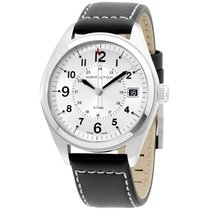 Hamilton Khaki Field Steel 40mm Silver Arabic numerals United States of America, New York, Brooklyn