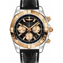 Breitling Chronomat 44 Gold/Steel 44mm Black