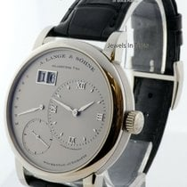 A. Lange & Söhne Platinum Automatic Silver 39.5mm pre-owned Lange 1