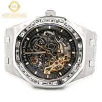 Audemars Piguet Royal Oak Double Balance Wheel Openworked 15412BC.ZZ.1220BC.01 2019 новые
