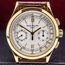 Patek Philippe Chronograph Yellow gold 39mm Roman numerals United States of America, Massachusetts, Boston