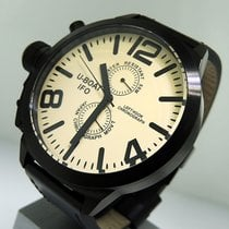 U-Boat new Quartz Limited Edition PVD/DLC coating 52mm Steel Sapphire crystal