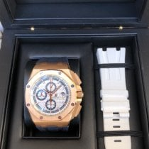 Audemars Piguet Royal Oak Offshore Chronograph Rose gold 44mm White No numerals United States of America, Illinois, Springfield