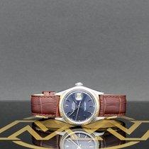 Rolex Acier Remontage automatique Bleu Sans chiffres 36mm occasion Datejust