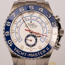 Rolex Yacht-Master II Steel 44mm White No numerals United Kingdom, Newcastle Upon Tyne