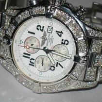 Breitling Super Avenger Steel 48mm White Arabic numerals United States of America, New York, NEW YORK CITY