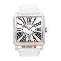 Franck Muller Master Square Steel 36mm Silver Roman numerals United States of America, Pennsylvania, Bala Cynwyd