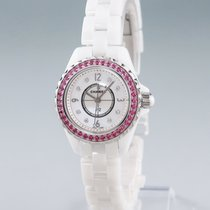 Chanel Women's watch J12 29mm Quartz pre-owned Watch with original box and original papers