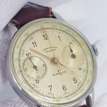 Marvin Steel 37mm Manual winding Marvin 780 Valjoux 22 pre-owned