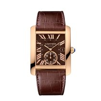 Cartier Tank MC Rose gold 34mm Brown Roman numerals United States of America, New York, New York
