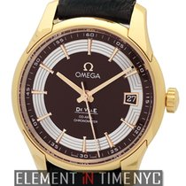 Omega De Ville Hour Vision Rose gold 41mm Brown United States of America, New York, New York