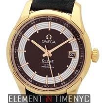 Omega 431.63.41.21.13.001 Oro rosado De Ville Hour Vision 41mm nuevo