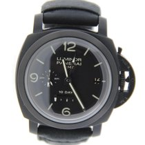 Panerai Luminor GMT 1950 10 Day DLC Stainless Steel
