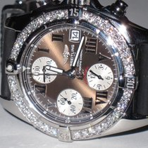 Breitling Chrono Cockpit Steel 39mm Brown Roman numerals United States of America, New York, New York