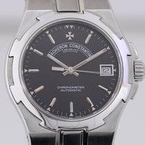 Vacheron Constantin Overseas black dial Steel Automatic...