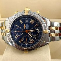 Breitling Crosswind Pilot Gold Steel Blue Roman Dial 43 mm (2001)
