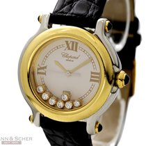 Σοπάρ (Chopard) Happy Sport Ref-27/8239-23 18k Yellow Gold/Sta...