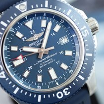 Breitling SuperOcean 44 Special Steel Blue - Only for Non-EU...