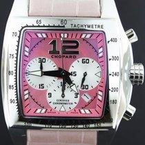 Chopard Two O Ten Tycoon XL Chronograph Pink Strap Full Set 2010