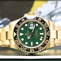 Rolex GMT-Master II 116718LN Gold Green Dial