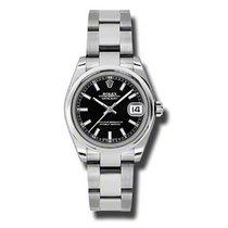 Rolex Lady-Datejust Otel 31mm Negru