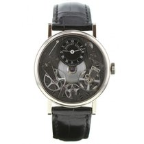 Breguet 37mm Manual winding pre-owned Tradition Black