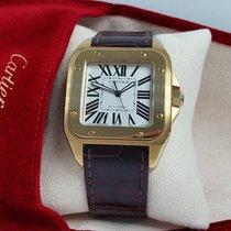 Cartier SANTOS 100 year Anniversary XL 18k Gold