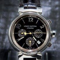 Louis Vuitton Acier 41mm Remontage automatique Q1121 occasion