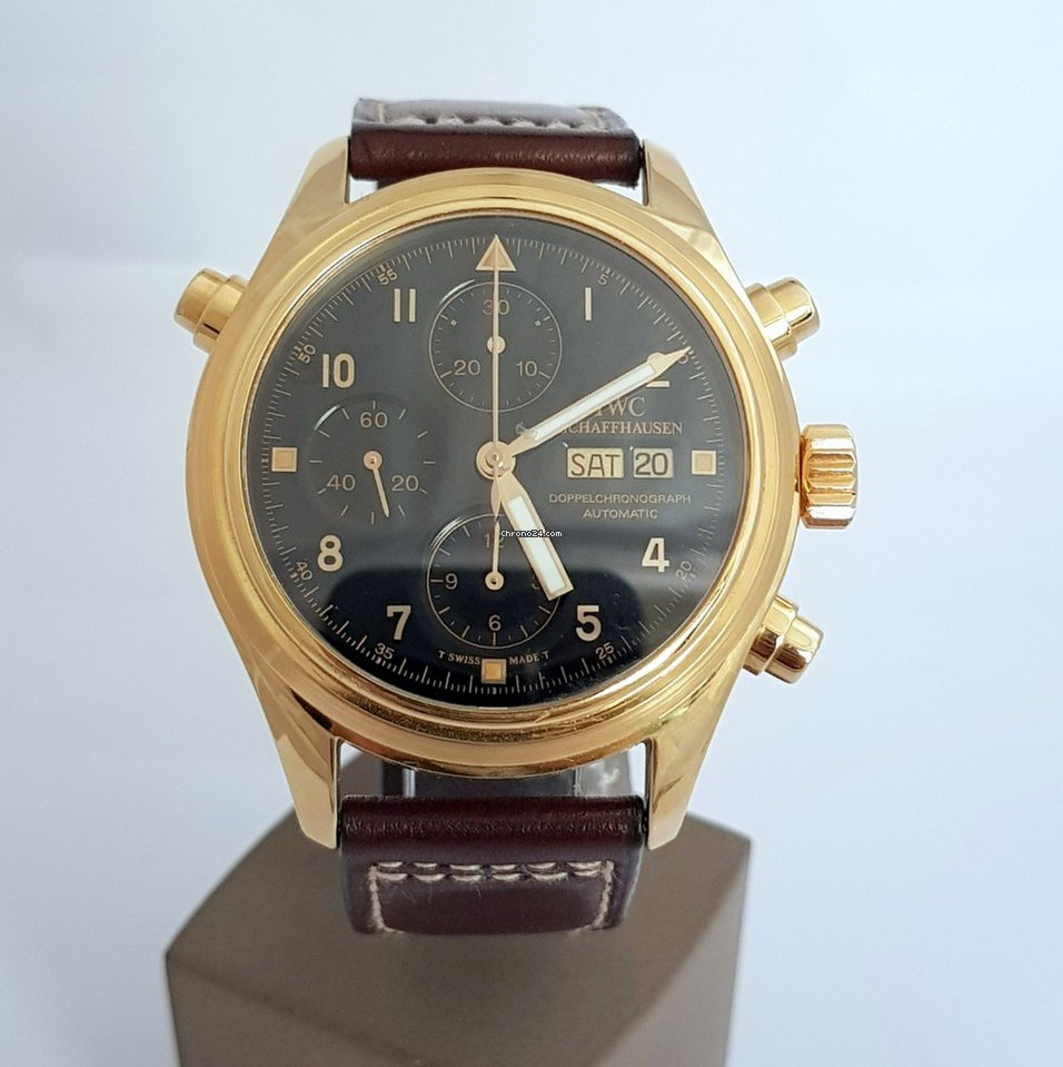 IWC Pilot Double Chronograph 371115 pre-owned
