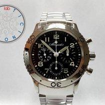 Breguet Chronograph 39mm Automatik 1997 gebraucht Type XX - XXI - XXII Schwarz