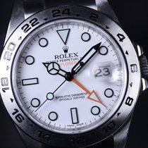 Rolex Explorer II Steel 42,00mm White No numerals