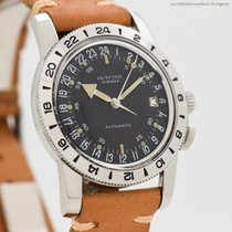 Glycine 35mm Automatic 1965 pre-owned Airman (Submodel) Black