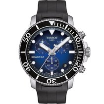 Tissot Seastar 1000 nieuw 45,5mm Staal