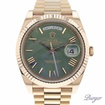 Rolex Day-Date 40 pre-owned 40mm Rose gold